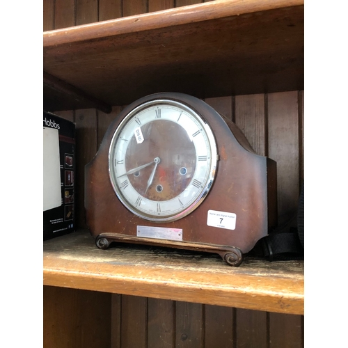 7 - A mantle clock...