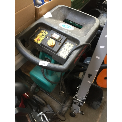 126 - Bosch AXT 2200 HP electric garden shredder....