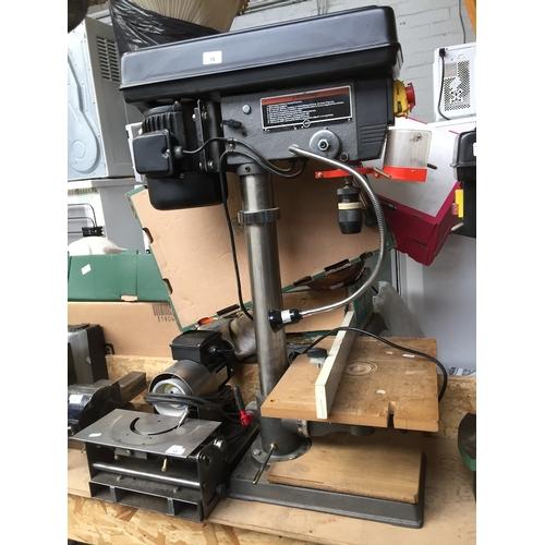 16 - NuTool 12 speed bench drill press....