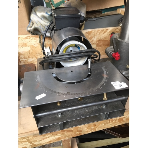 17 - Adjustable drill bit grinder....