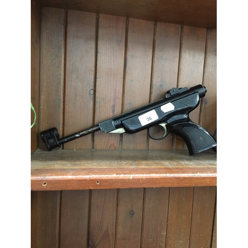 36 - An Italian made .177 air pistol...