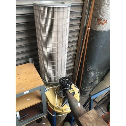 4 - A Scheppach HA2600 industrial vacuum....