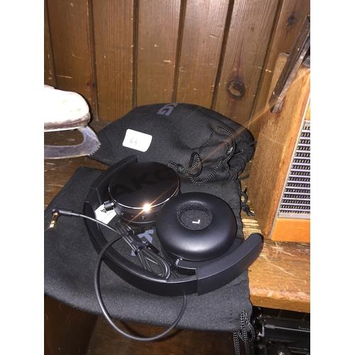 44 - 2 pairs of AKG C50BT headphones....