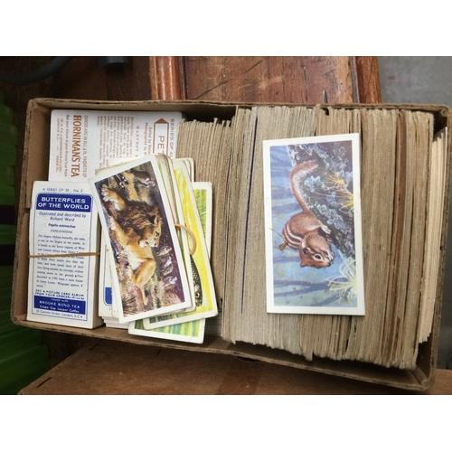 48 - Quantity of tea cards, etc....