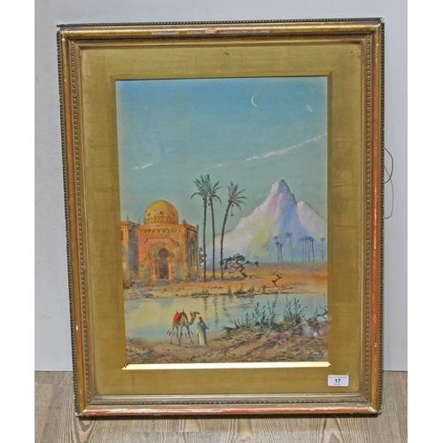 17 - Henry Stanton Lynton (British fl. 1886-1904), North African scene, watercolour, 37.5cm x 53cm, signe...