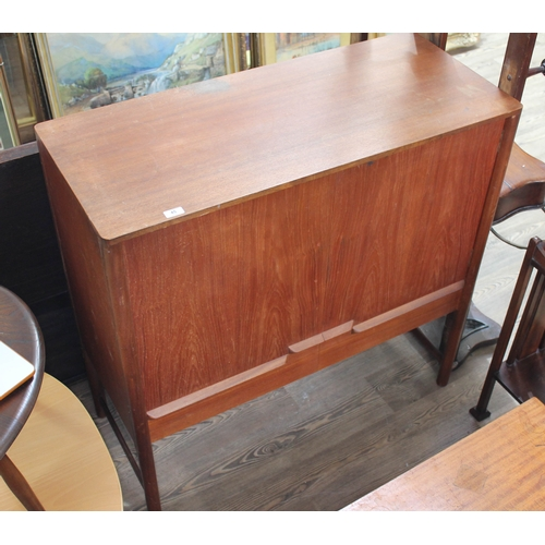 45 - A McIntosh teak cabinet circa 1960s, width 107cm, depth 46cm & height 105cm....
