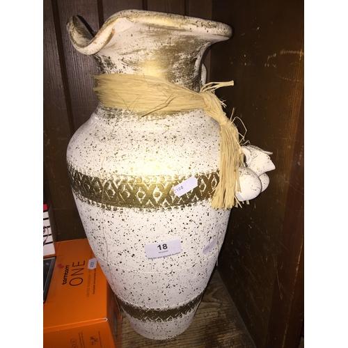 18 - A Grecian style vase....