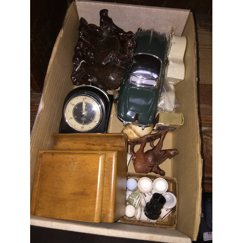 46 - A small box of collectables...