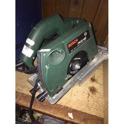 57 - A Bosch PKS 46 circular saw....