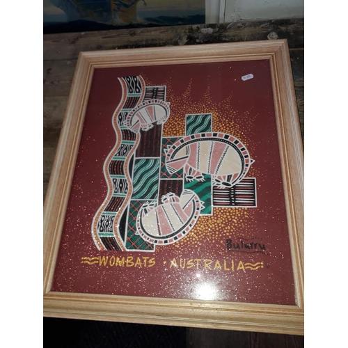 11 - Australian Aboriginal print