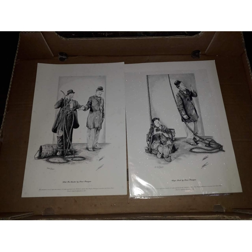 6 - Two limited edition Laurel & Hardy prints....