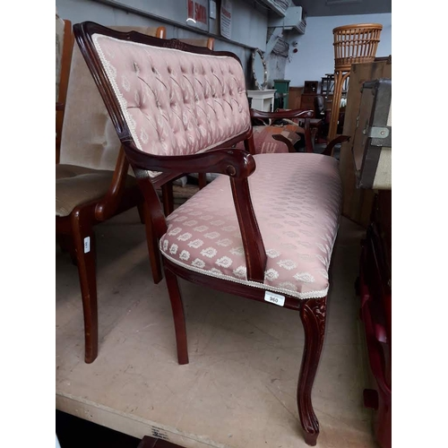 960 - A two seater salon settee....