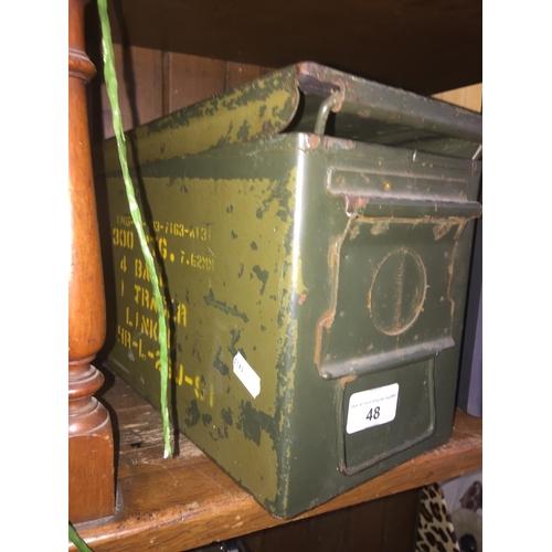 48 - An ammo box...