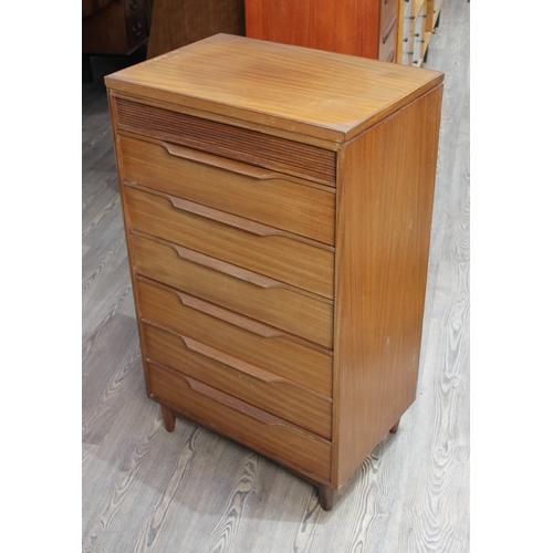 20 - A White & Newton teak chest of drawers, width 61cm, depth 41cm & height 102cm....