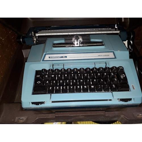 45 - A Smith Corona Coronet XL typewriter...