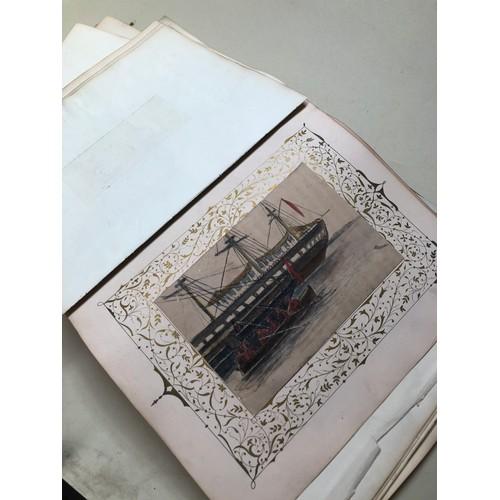 12 - A Victorian scrap album...