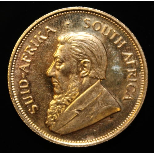 1 - South Africa, 1972 Krugerrand, 1 oz. fine gold (91.67%) ONLY 10% BUYER'S PREMIUM (INCLUSIVE OF VAT) ...