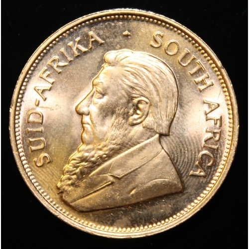 10 - South Africa, 1974 Krugerrand, 1 oz. fine gold (91.67%) ONLY 10% BUYER'S PREMIUM (INCLUSIVE OF VAT) ...