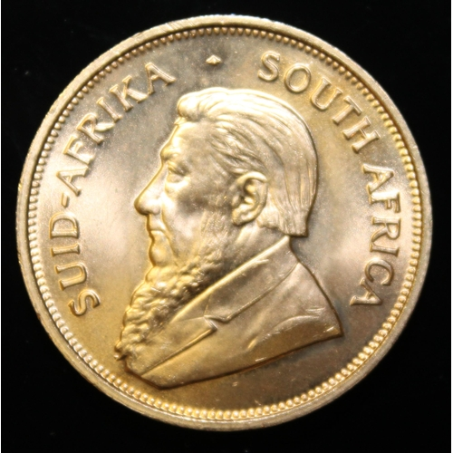 12 - South Africa, 1974 Krugerrand, 1 oz. fine gold (91.67%) ONLY 10% BUYER'S PREMIUM (INCLUSIVE OF VAT) ...