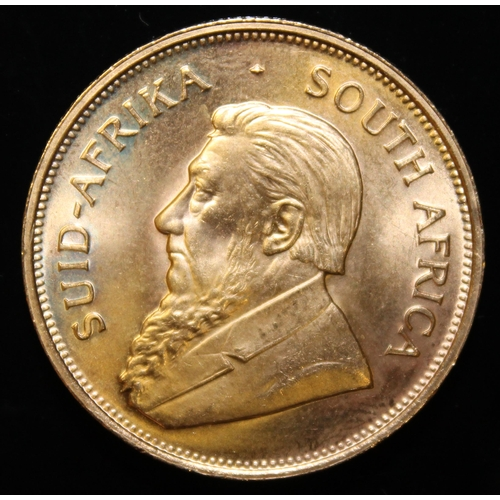 13 - South Africa, 1974 Krugerrand, 1 oz. fine gold (91.67%)  ONLY 10% BUYER'S PREMIUM (INCLUSIVE OF VAT)...