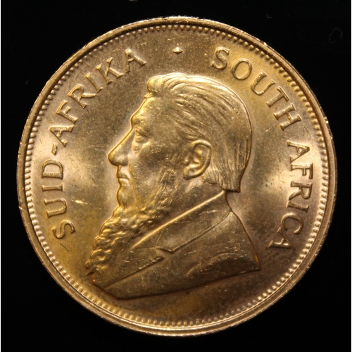 14 - South Africa, 1974 Krugerrand, 1 oz. fine gold (91.67%) ONLY 10% BUYER'S PREMIUM (INCLUSIVE OF VAT) ...