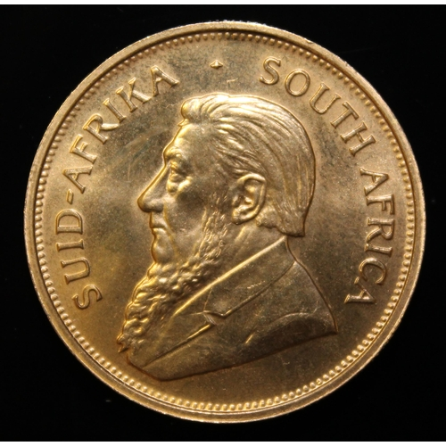17 - South Africa, 1974 Krugerrand, 1 oz. fine gold (91.67%) ONLY 10% BUYER'S PREMIUM (INCLUSIVE OF VAT) ...