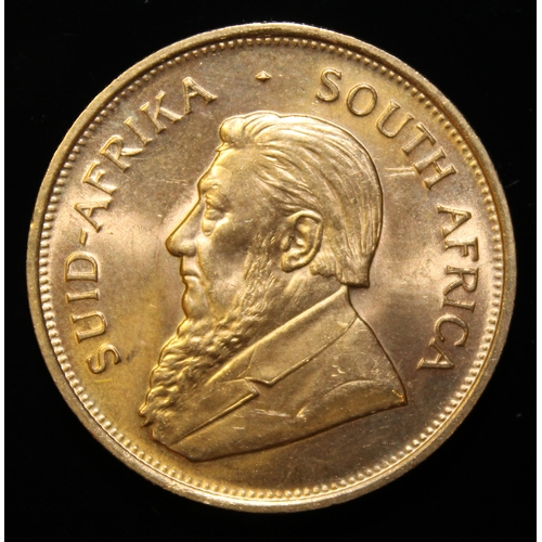 2 - South Africa, 1973 Krugerrand, 1 oz. fine gold (91.67%) ONLY 10% BUYER'S PREMIUM (INCLUSIVE OF VAT) ...