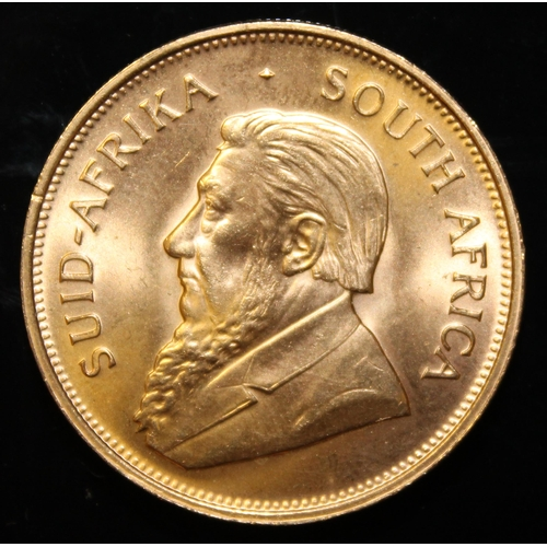 28 - South Africa, 1974 Krugerrand, 1 oz. fine gold (91.67%) ONLY 10% BUYER'S PREMIUM (INCLUSIVE OF VAT) ...