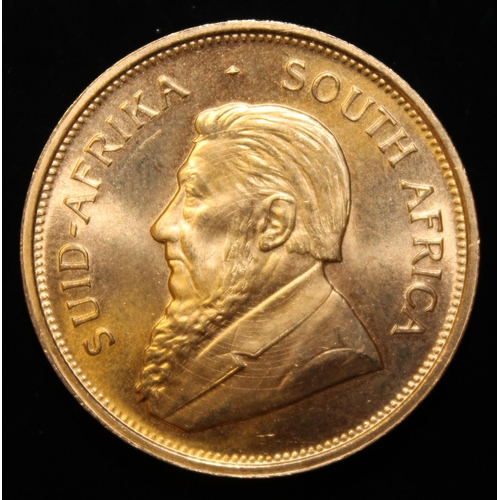 32 - South Africa, 1974 Krugerrand, 1 oz. fine gold (91.67%) ONLY 10% BUYER'S PREMIUM (INCLUSIVE OF VAT) ...