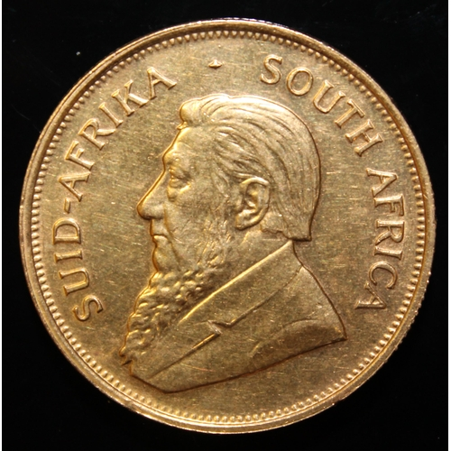 35 - South Africa, 1974 Krugerrand, 1 oz. fine gold (91.67%) ONLY 10% BUYER'S PREMIUM (INCLUSIVE OF VAT) ...
