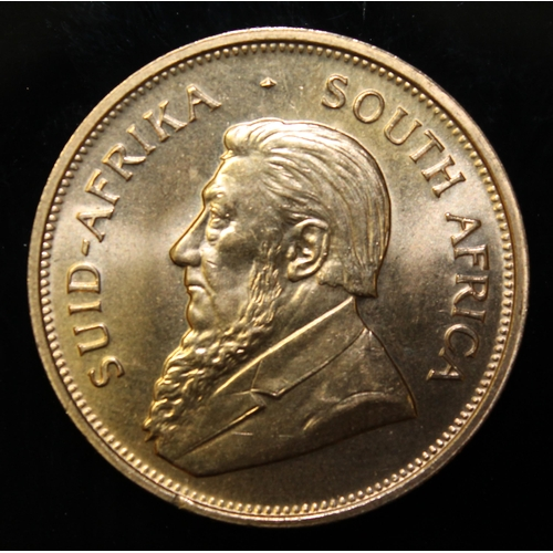 36 - South Africa, 1974 Krugerrand, 1 oz. fine gold (91.67%) ONLY 10% BUYER'S PREMIUM (INCLUSIVE OF VAT) ...
