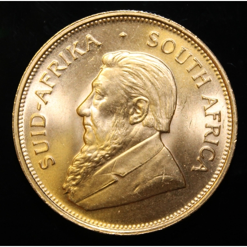 38 - South Africa, 1974 Krugerrand, 1 oz. fine gold (91.67%) ONLY 10% BUYER'S PREMIUM (INCLUSIVE OF VAT) ...