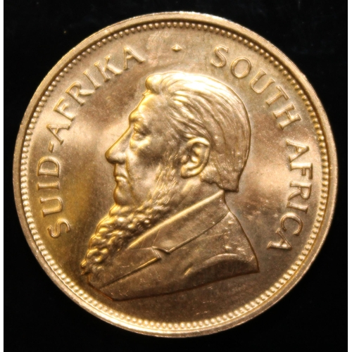 39 - South Africa, 1974 Krugerrand, 1 oz. fine gold (91.67%) ONLY 10% BUYER'S PREMIUM (INCLUSIVE OF VAT) ...