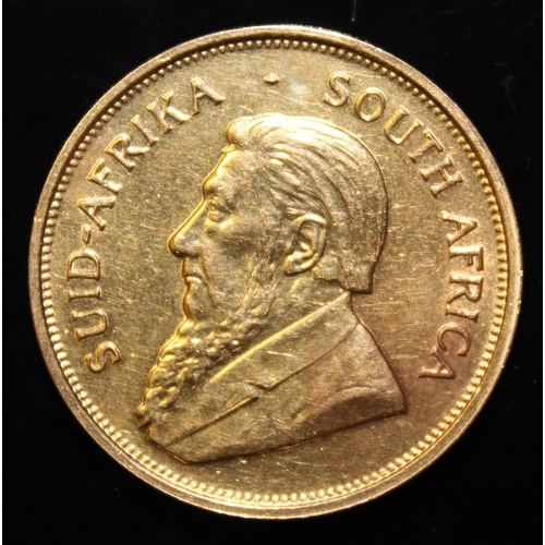 41 - South Africa, 1974 Krugerrand, 1 oz. fine gold (91.67%)  ONLY 10% BUYER'S PREMIUM (INCLUSIVE OF VAT)...