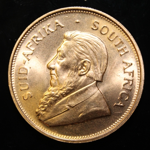 45 - South Africa, 1974 Krugerrand, 1 oz. fine gold (91.67%) ONLY 10% BUYER'S PREMIUM (INCLUSIVE OF VAT) ...