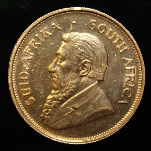 46 - South Africa, 1974 Krugerrand, 1 oz. fine gold (91.67%)  ONLY 10% BUYER'S PREMIUM (INCLUSIVE OF VAT)...