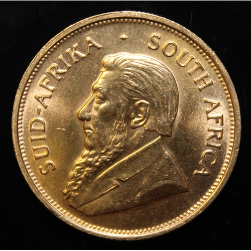 47 - South Africa, 1975 Krugerrand, 1 oz. fine gold (91.67%)  ONLY 10% BUYER'S PREMIUM (INCLUSIVE OF VAT)...
