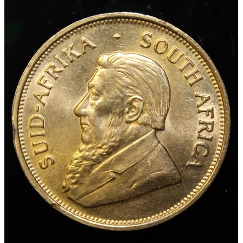 48 - South Africa, 1975 Krugerrand, 1 oz. fine gold (91.67%)  ONLY 10% BUYER'S PREMIUM (INCLUSIVE OF VAT)...