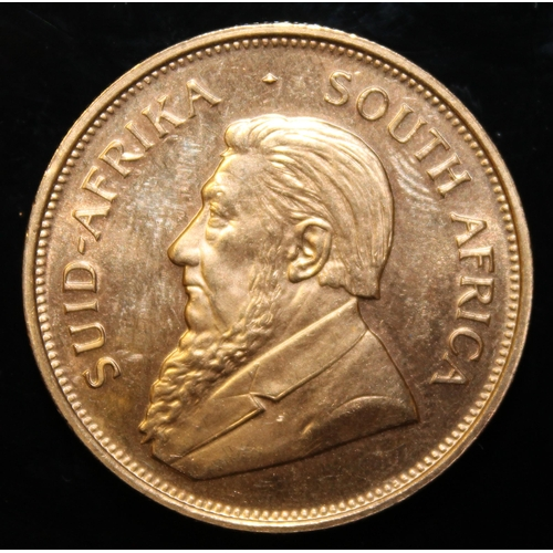 50 - South Africa, 1975 Krugerrand, 1 oz. fine gold (91.67%) ONLY 10% BUYER'S PREMIUM (INCLUSIVE OF VAT) ...