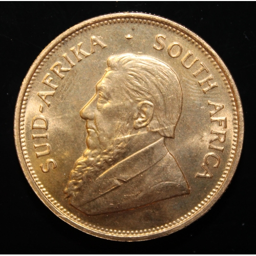 51 - South Africa, 1975 Krugerrand, 1 oz. fine gold (91.67%)  ONLY 10% BUYER'S PREMIUM (INCLUSIVE OF VAT)...