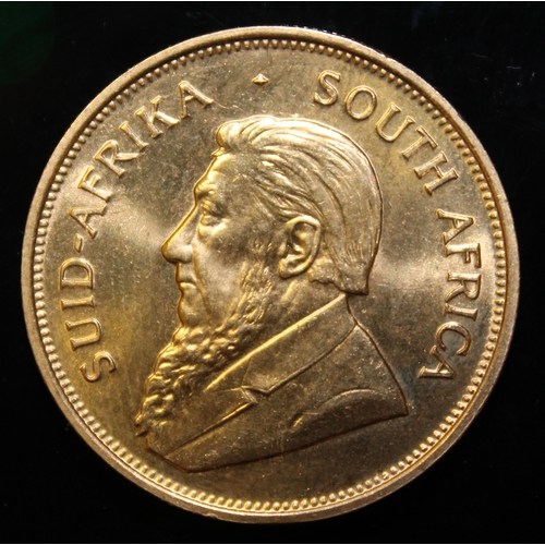 53 - South Africa, 1975 Krugerrand, 1 oz. fine gold (91.67%) ONLY 10% BUYER'S PREMIUM (INCLUSIVE OF VAT) ...