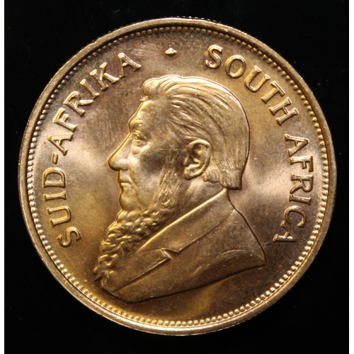 56 - South Africa, 1975 Krugerrand, 1 oz. fine gold (91.67%) ONLY 10% BUYER'S PREMIUM (INCLUSIVE OF VAT) ...