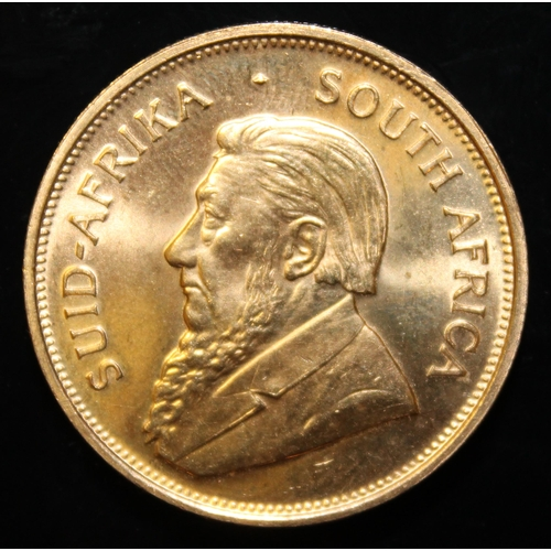 58 - South Africa, 1975 Krugerrand, 1 oz. fine gold (91.67%) ONLY 10% BUYER'S PREMIUM (INCLUSIVE OF VAT) ...