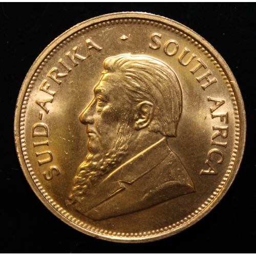 59 - South Africa, 1975 Krugerrand, 1 oz. fine gold (91.67%)  ONLY 10% BUYER'S PREMIUM (INCLUSIVE OF VAT)...