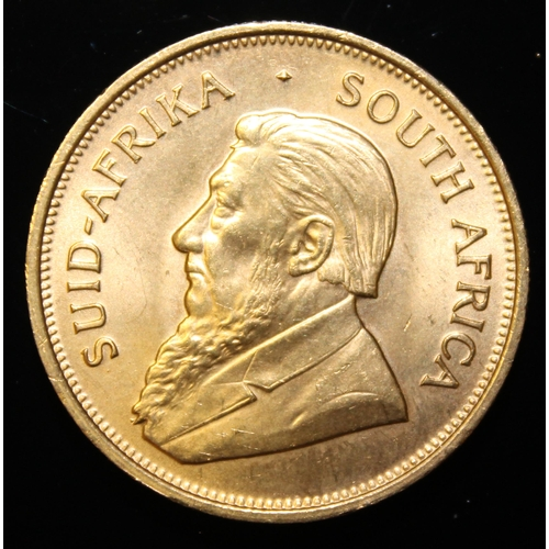 6 - South Africa, 1974 Krugerrand, 1 oz. fine gold (91.67%) ONLY 10% BUYER'S PREMIUM (INCLUSIVE OF VAT) ...
