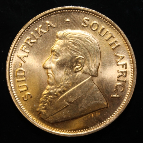 61 - South Africa, 1975 Krugerrand, 1 oz. fine gold (91.67%) ONLY 10% BUYER'S PREMIUM (INCLUSIVE OF VAT) ...