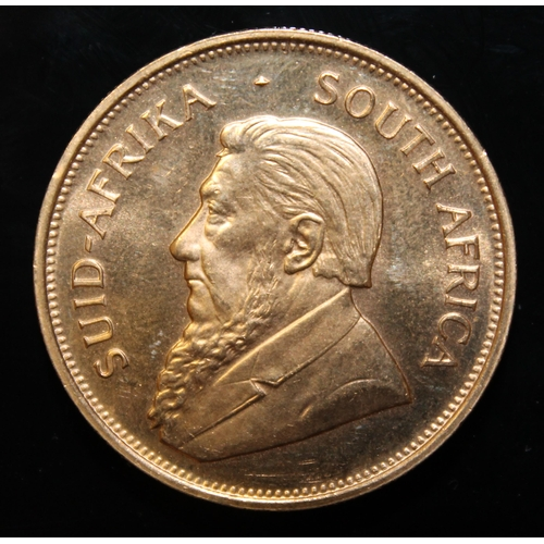 63 - South Africa, 1975 Krugerrand, 1 oz. fine gold (91.67%) ONLY 10% BUYER'S PREMIUM (INCLUSIVE OF VAT) ...