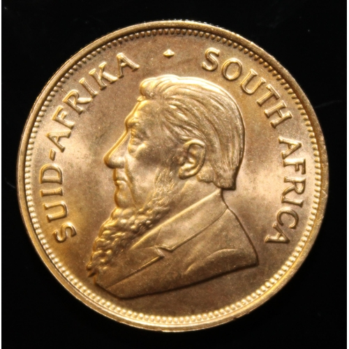 68 - South Africa, 1975 Krugerrand, 1 oz. fine gold (91.67%)  ONLY 10% BUYER'S PREMIUM (INCLUSIVE OF VAT)...