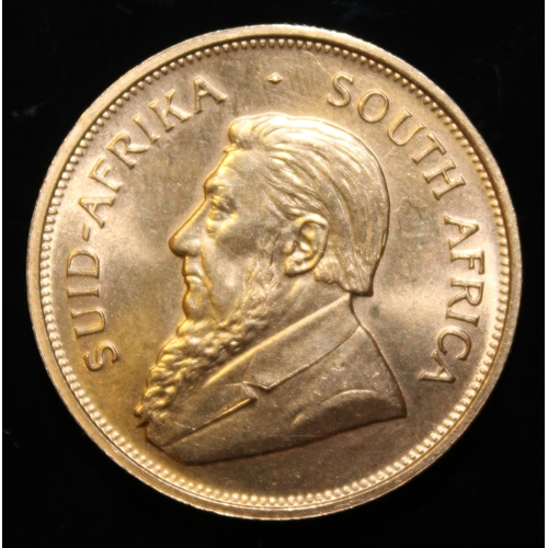 70 - South Africa, 1975 Krugerrand, 1 oz. fine gold (91.67%)  ONLY 10% BUYER'S PREMIUM (INCLUSIVE OF VAT)...