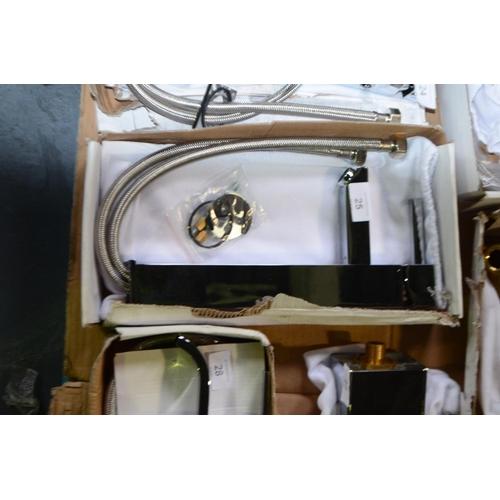 25 - high rise mixer tap rrp £110...